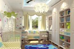 Дизайн-проект детской комнаты изображение-1