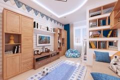 Дизайн-проект детской комнаты изображение-8