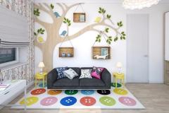 Дизайн-проект детской комнаты изображение-10