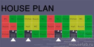 План модульного дома