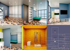 Интерьеры модульного дома